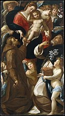 Madonna and Child with Saints Francis and Dominic and Angels MET DT9442.jpg