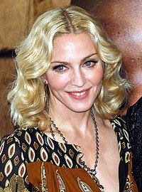 Madonna na estreia de I Am Because We Are em 2008.