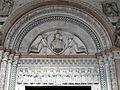 Maestro lombardo, redentore in mandorla e cristo tra gli apostoli, dal 1233, 01.JPG