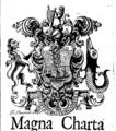 Magna charta libertatum civitatis Waterford. Timotheo Cunningham editore. Fleuron T145627-2.png