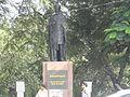 Mahaboob alikhan. statue, tankbund.JPG