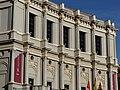 Main facade of the Teatro Real de Madrid, 2016 02.jpg