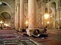 Main prayer hall, Umayyid Mosque, Damascus.jpg