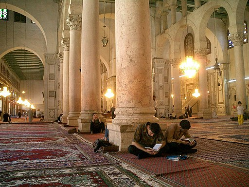 Main prayer hall, Umayyid Mosque, Damascus