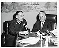 Major Bill Mack of the U.S. Air Force Academy with Mayor John F. Collins (13850436634).jpg