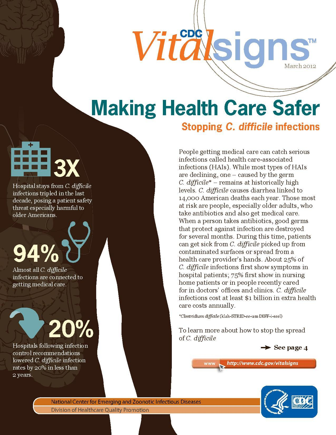 file making health care safer cdc vital signs march 2012