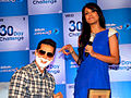 Malaika makes Dino and Ritwik shave at 'Gillete 30 Day Challenge' event(5).jpg