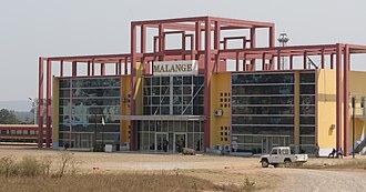 Malanje - New railway station of Malanje