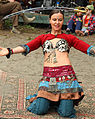 Malea wowing the crowd with her sword dance (4778558911).jpg