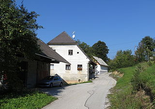 Mali Rigelj Place in Lower Carniola, Slovenia