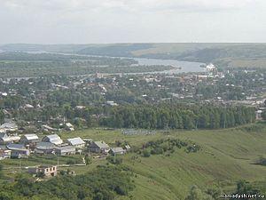 Mamadysh - View of Mamadysh and the Vyatka River