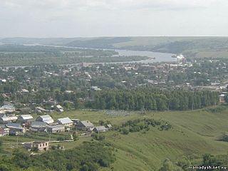 Mamadysh Town in Tatarstan, Russia