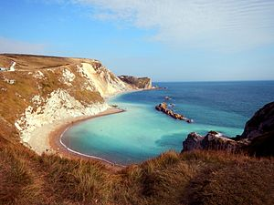 Man of War Bay - Durdle Door Man O War Bay
