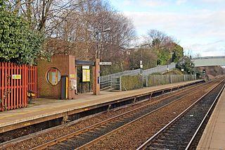 Whiston railway station