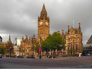 Norman Foster, Baron Foster of Thames Bank - Alfred Waterhouse's Manchester Town Hall, where Foster worked as a junior clerk