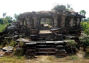 Kota Gullu - Image: Mandapam at Kotagullu in Ghanpur near Mulugu