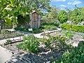 Mane - Prieuré de Salagon, jardin médiéval.jpg
