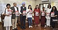 Maneka Sanjay Gandhi launching a Standard Operating Procedure for care & Protection of Children in street situation in association with 'Save the Children India', in New Delhi.jpg