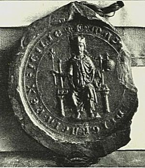Manfred, King of Sicily - Seal of Manfred