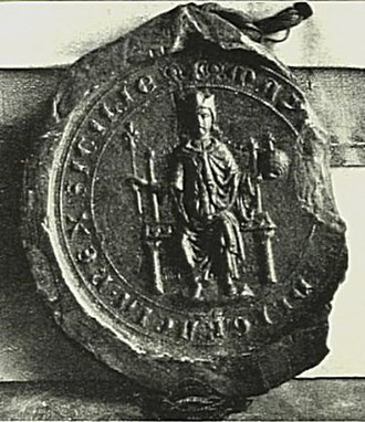 Manfred, King of Sicily - Seal of Manfred.