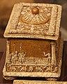 Manifattura ferrese o padovana, cofanetto con dorature e decorazioni a pastiglia, fine XV-XVI sec. 02.JPG