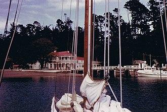 Kawau Island - Mansion House in March 1967