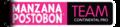Manzana Postobón Team logo.png
