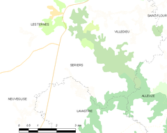 Map commune FR insee code 15227.png