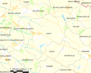 Map commune FR insee code 31271.png