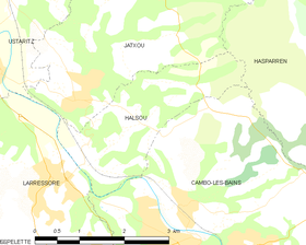 Map commune FR insee code 64255.png