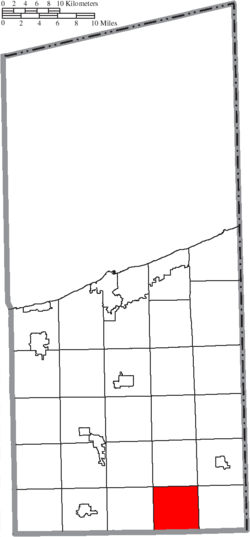 Location of Wayne Township in Ashtabula County