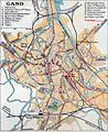 Map of Gand 1950.jpg