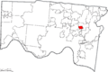 Map of Hamilton County Ohio Highlighting Deer Park City.png