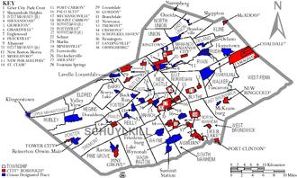 Schuylkill County, Pennsylvania - Wikipedia