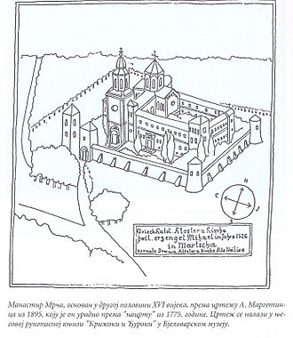 Eparchy of Marča - The Marcha Monastery (1775)
