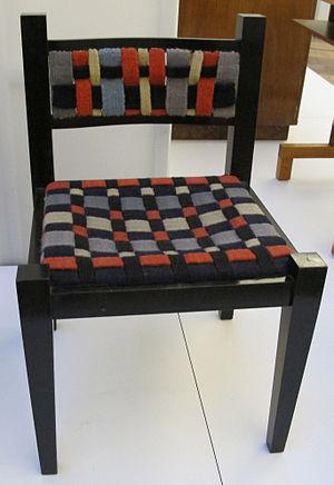 Gunta Stölzl - Gunta Stölzl textiles on a Marcel Breuer chair (1922)
