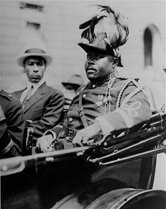 Marcus Garvey - Garvey in Aug. 1922