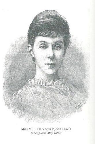 Margaret Harkness - Margaret Harkness aka John Law in 1890