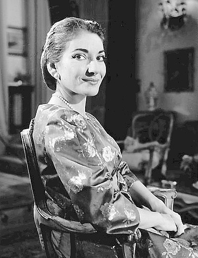 Picture of a band or musician: Maria Callas