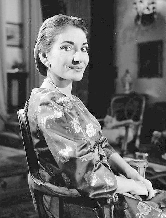 Maria Callas 1958