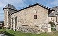 Maria Saal Kollegiatstift Kanonikerstoeckl mit polygonal vortretendem Turmbau SO-Ansicht 28092016 4592.jpg