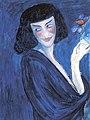 Marianne von Werekin, Der Tänzer Sacharoff, 1909.jpg