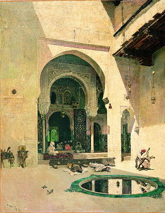 Alfred Corning Clark - Image: Mariano Fortuny The Court of the Alhambra