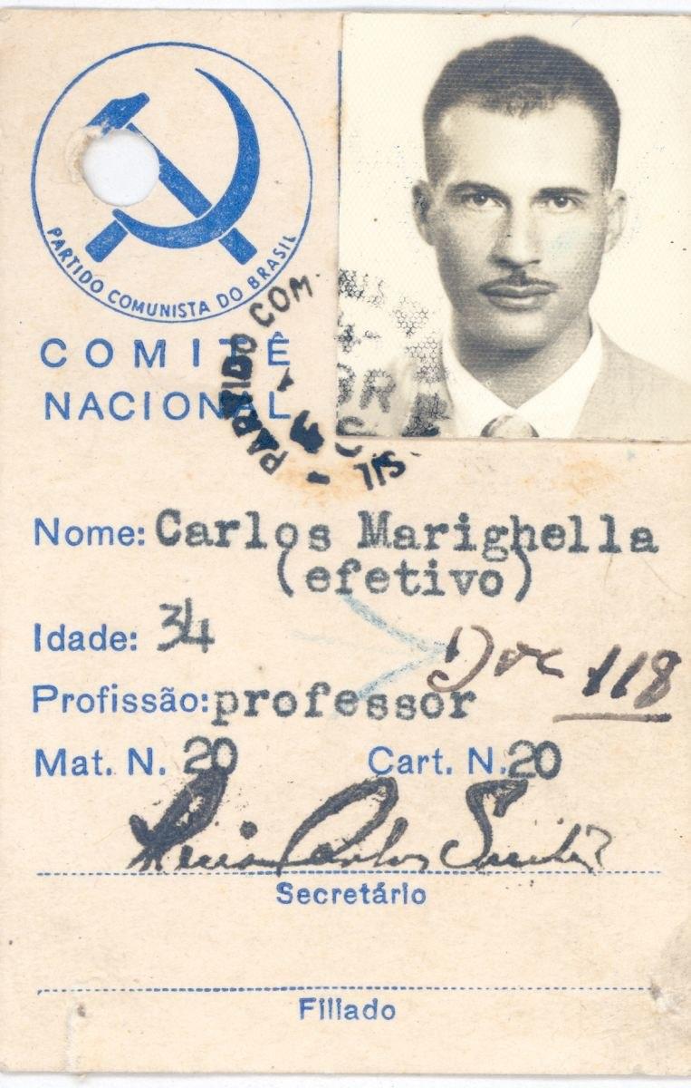 Marighella foto1 carteira pcb apeerj