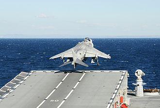 Italian Navy - Image: Marina Militare AV 8B Harrier II