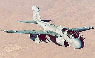Northrop Grumman EA-6B Prowler - A U.S. Marine EA-6B Prowler
