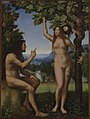 Mariotto Albertinelli - The Temptation of Adam and Eve - 1959.15.13a - Yale University Art Gallery.jpg