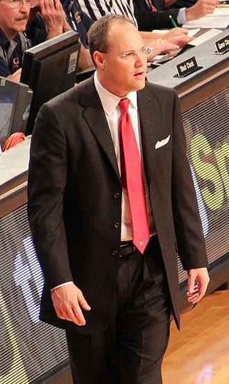 Mark Fox (basketball) - Fox in 2012