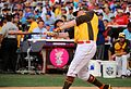 Mark Trumbo competes in semifinals of '16 T-Mobile -HRDerby. (28285838740).jpg