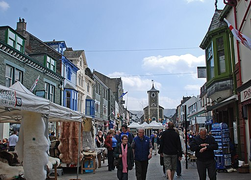 Market Square, Keswick - geograph.org.uk - 1856270